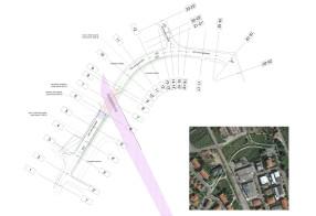 Sottopasso stradale + pedonale in Borgo a Giovi, Arezzo