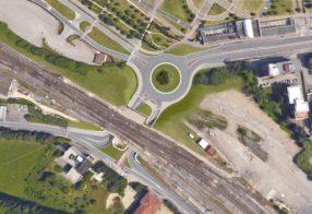 Ristrutturazione snodo viario in area Baldaccio, Arezzo