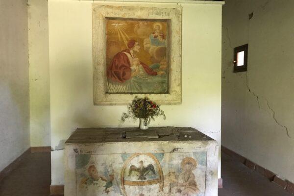 Lavori di somma urgenza di tutela e messa in sicurezza della Chiesa di San Pietro Celestino, L'Aquila