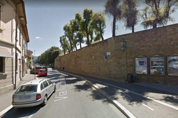 Progettazione, DL, CS consolidamento delle Mura Medicee tramite tiranti passivi, Arezzo