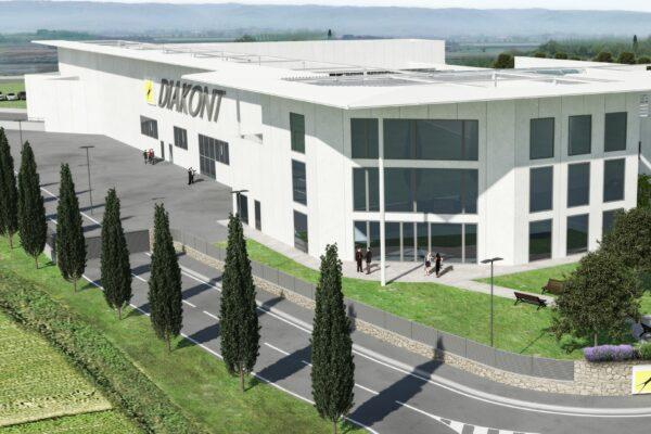 Prog. e DL immobile industriale ed uffici in loc. Padule del Comune di Lucignano, Arezzo