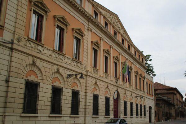 Progetto del miglioramento sismico di Palazzo Camerini sede della Questura di Ferrara