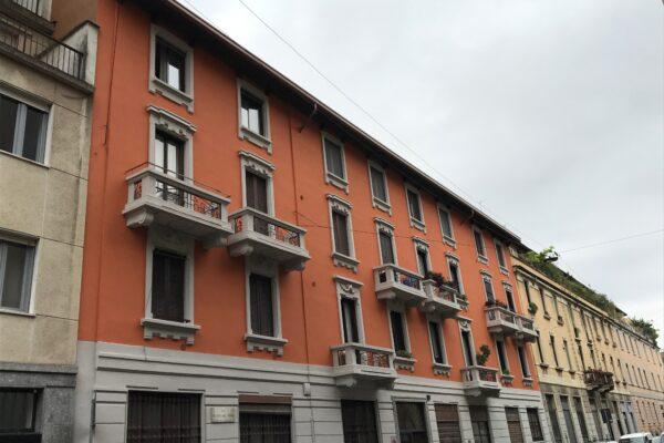 Progetto e DL rifacimento copertura e prospetti dell'immobile di Via Dal Verme n.4, Milano.