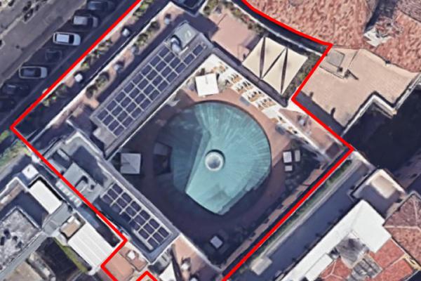 Verifica sismica ai sensi dell'O.P.C.M. 3274/03 dell'edificio di Via Durini 16/18, Milano.