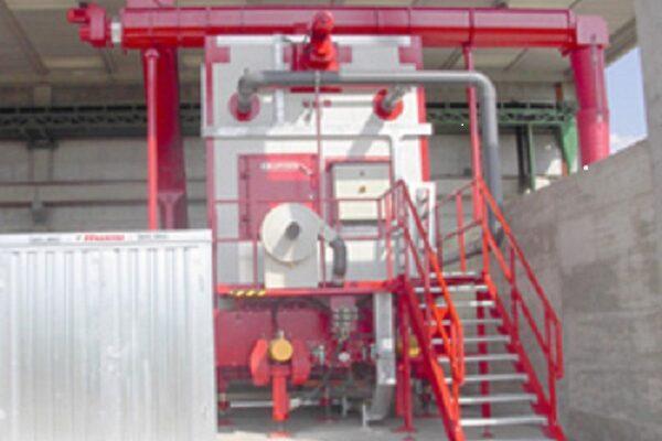 Progetto e Direzione Lavori impianto per la produzione di Compost di elevata qualità, Arezzo