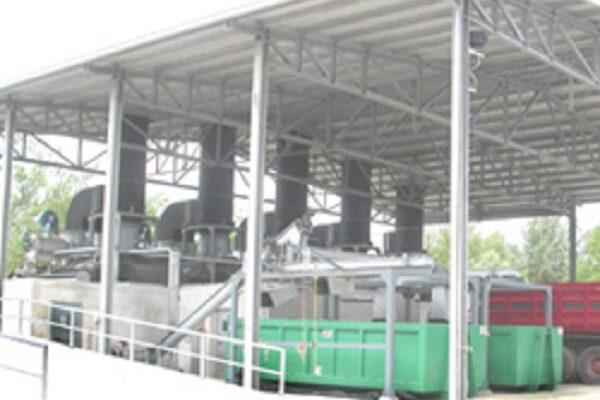 Progetto e collaborazione alla DL per Impianto di Essiccamento Fanghi nell'area del depuratore di Arezzo, Nuove Acque spa