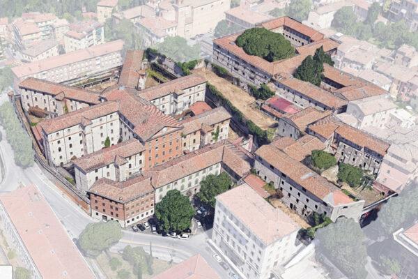Rilievo e Verifica Sismica, da espletarsi con metodologia BIM, delle ex Carceri Maschili e Femminili a Perugia