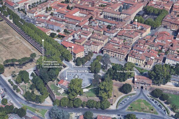 Progetto di adeguamento funzionale Palazzo Littorio, Uffici del Giudice di Pace, Lucca