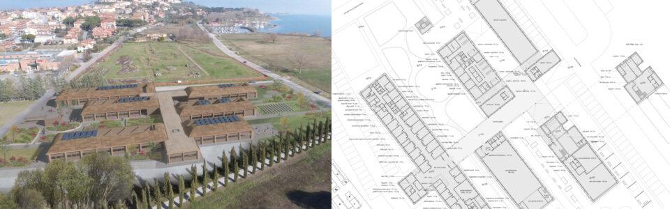 Concorso di progettazione a procedura aperta in due gradi per la realizzazione del nuovo centro servizi socio-sanitari nel Comune di Castiglione del Lago – 2° classificati